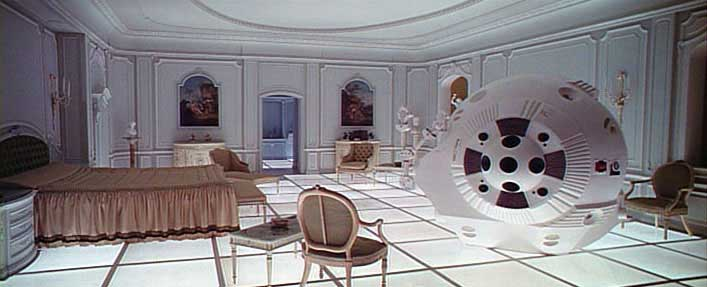 Image result for 2001 a space odyssey hotel suite