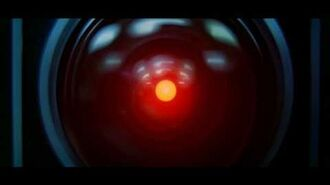 Hal 9000 VS Dave - Ontological scene in 2001 A Space Odyssey