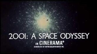 2001 A Space Odyssey - Original Trailer 1