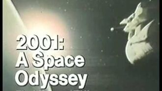 NBC promo 2001 A Space Odyssey 1977