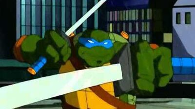 TMNT s01e17 The Shredder Strikes Back Part 1 (WIDESCREEN)