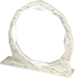 Marble portal built
