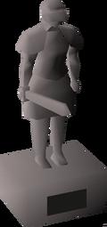 Camorra statue