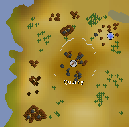 Quarry map