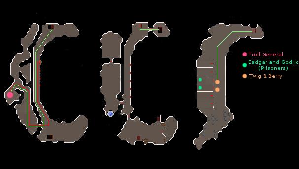 Troll Stronghold Dungeon Walkthrough