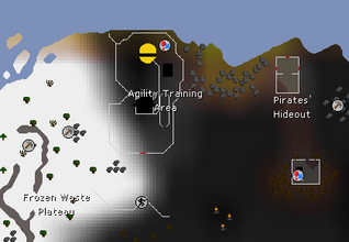 Wildy agility course map