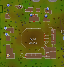 Fight Arena map