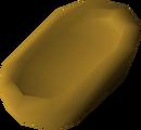 Unfinished batta (worm) detail