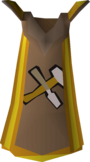 Crafting cape (t) detail