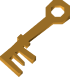 Bronze key (Recruitment Drive) detail