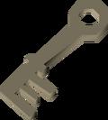 Cell door key detail