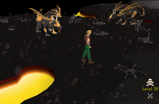Green Dragon Locations Runescape Osrs