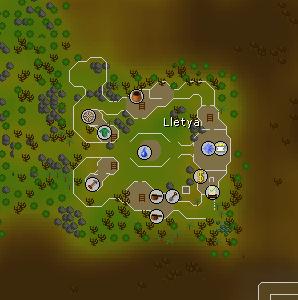 Lletya map