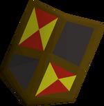 Black shield (h4) detail