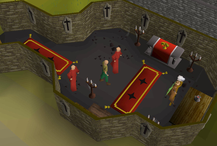 Collecting wine of zamorak | Old School RuneScape Wiki