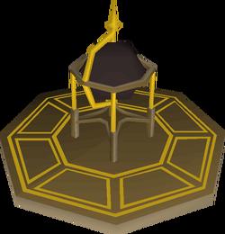 Celestial globe built