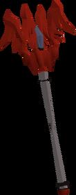 Dragon cane detail
