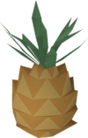 Tenti pineapple detail