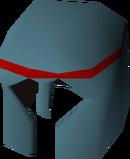 Rune med helm detail