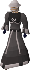Void ranger helm equipped