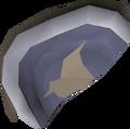 Broken shield (left) detail
