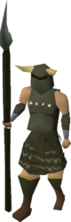 Guthan's armour equipped