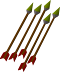 Iron arrow(p) detail