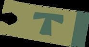 Minecart ticket (Keldagrim to Ice Mountain) detail