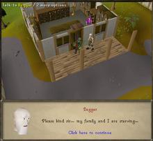Merlin's Crystal - The beggar