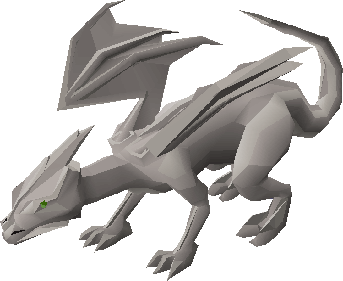 Runescape 2007 iron dragons / draconic visage drop! Youtube.