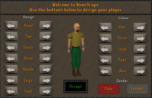 Welcome to RuneScape Player Design