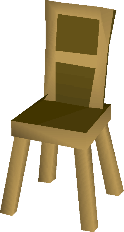Wooden Chair Built