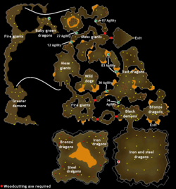 Brimhaven Dungeon Map Osrs | Asdela
