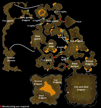 Image result for brimhaven dungeon osrs
