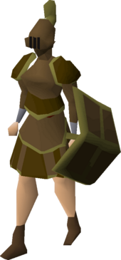 Bronze trimmed set (sk) equipped
