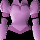 Pink elegant blouse detail