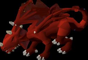 Brutal red dragon