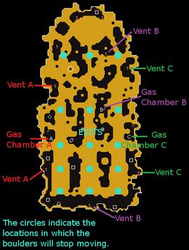 Volcanic Mine map