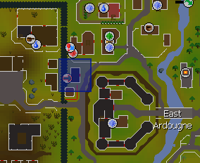 Ardougne teleport lever location