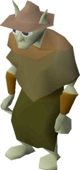 Cave goblin (Brown hat)