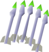 Jade bolts (e) detail