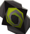 Twisted buckler detail