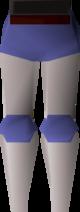 White decorative legs detail