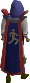 Agility cape (t) equipped