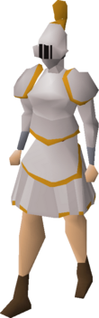 Proselyte tasset equipped