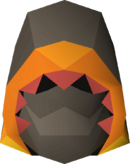 Pyromancer hood detail
