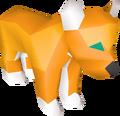 Tiger toy detail
