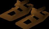 Villager sandals (brown) detail