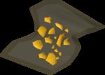 Gold dust detail