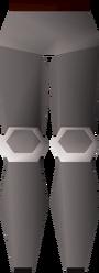 Steel platelegs (t) detail